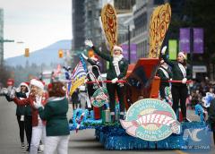 14th Santa Claus Parade held in Vancouver, Canada