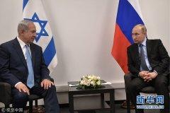 俄总统普京会晤以色列总理内塔尼亚胡