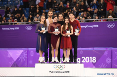 Canada claims gold medal in ice dance event