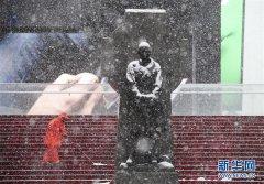 纽约再次遭遇暴风雪天气