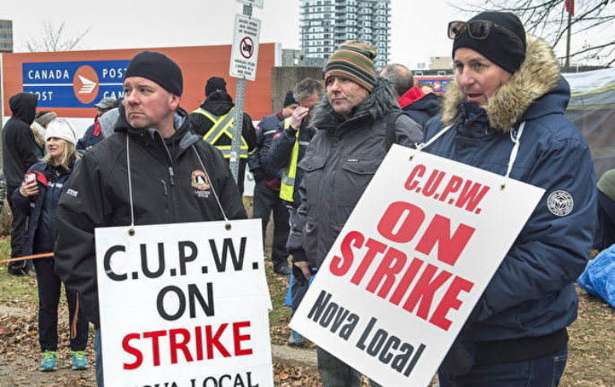 Canada passes back-to-work legislation to end post workers' strikes