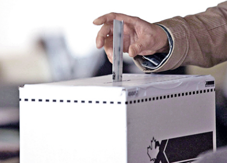 Bomb threat suspends Canada's provincial voting