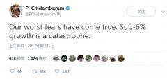 印度GDP增速变惨