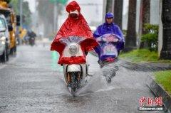 Taifun Khanun erreicht Hainan