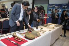 Relics, Historical Materials of Nanjing Massacre Exhibition held in Toronto
