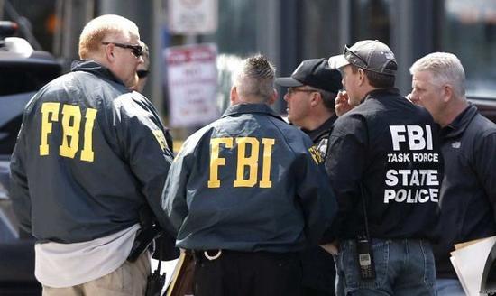 资料图片:美国联邦调查局特工。(图片来源于网络)