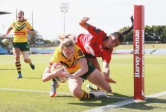 Canada falls in rugby league World Cup semis to mighty Australia