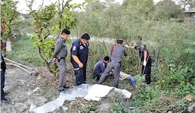 事发后,泰国警方赶到现场处置。