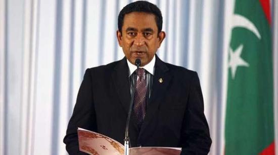 马尔代夫总统亚明。(路透社)