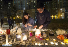 People pay tribute to victims of vehicle attack in Toronto, Canada