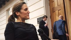 Freeland gets briefing from U.S. lawmakers on tight window for passing NAFTA