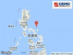 菲律宾南部发生5.7级地震 震源深度21米
