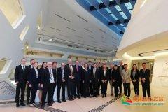 中国政法大学代表团访问奥地利总去玩、捷克和匈牙利