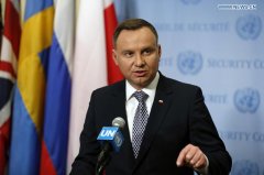 Polish president wants sound Euro-Atlantic relations