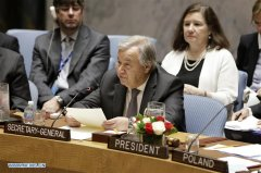 UN chief shares grave figures on civilians in armed conflicts