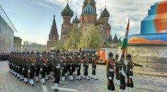 莫斯科胜利日阅兵进入彩排最后阶段