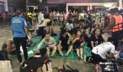 泰国普吉岛发生涉中国游客船只倾覆事