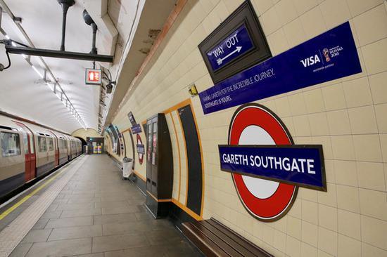 伦敦地铁图片来源:路透社