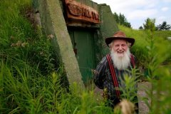 A 83-year-old Canadian man builds Noah's Ark underground to cope with end of the world
