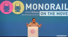 Thailand starts construction of monorail transit lines in Bangkok