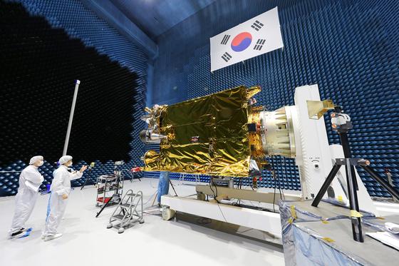 千里眼2A卫星 图片来自韩国中央日报
