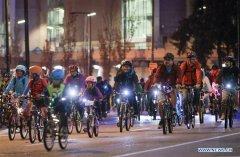 "In pics: ""Bike The Night"" event in Canada"