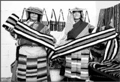 西藏阿里:民族手工编织