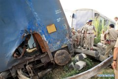 At least 7 killed, 30 injured in train accident in northern India