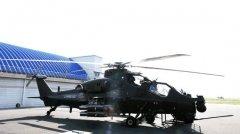中国武装直升机或