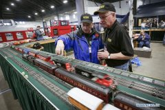 2018 Vancouver Train Expo held in Canada