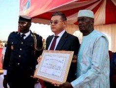 新加坡韦立集团总裁孙修顺获几内亚总统骑士勋章