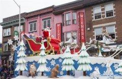 Toronto Santa Claus Parade held in Canada