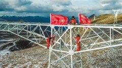 西藏3年外送电量为