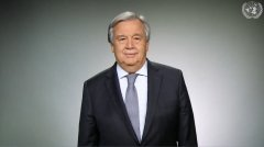 UN Secretary-General Antonio Guterres delivers 2019 New Year's message