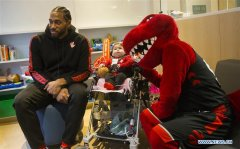 Toronto Raptors players visit H