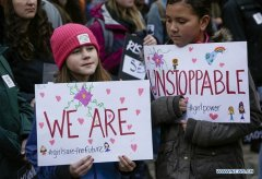 In pics: Women's March in Vanco