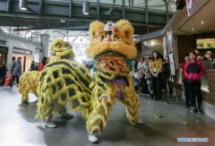 Spring Festival celebration held in Vancouver International Airport, Canada