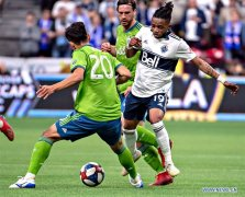 Vancouver Whitecaps draws with Seattle Sounders 0-0 during MLS soccer match
