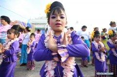 Traditional water festival kicks off across Myanmar