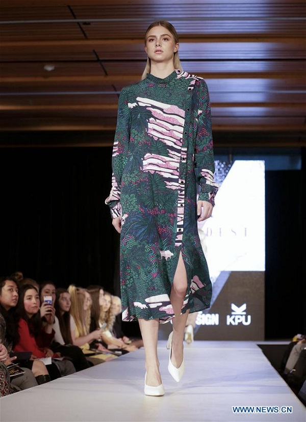 Wilson School Of Design Holds Fashion Show At Kpu In Cananda