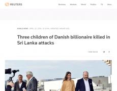 丹麦首富3个孩子斯里兰卡