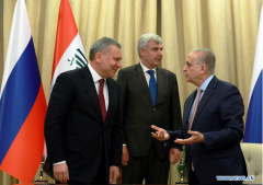 Iraq, Russia sign agreements, MoUs in various fields