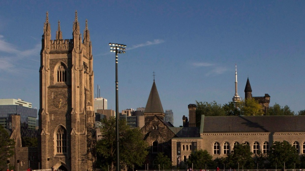 University of Toronto ranked 18