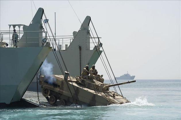 Military activity in Gulf escalates as tenions rise