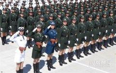 70周年国庆大阅兵:徒步方