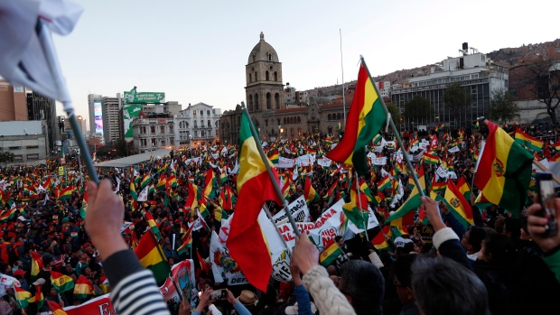 Second wave of demonstrations rock Bolivia as thousands protest Morales