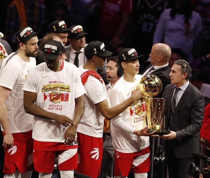 Raptors deliver Canada's first ever NBA championship