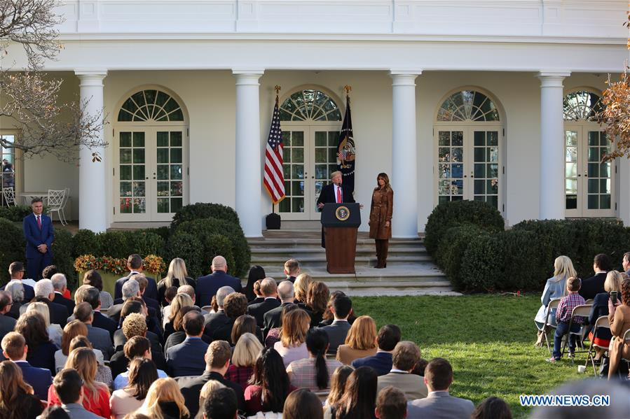 National Thanksgiving Turkey Pardoning Ceremony held in White House