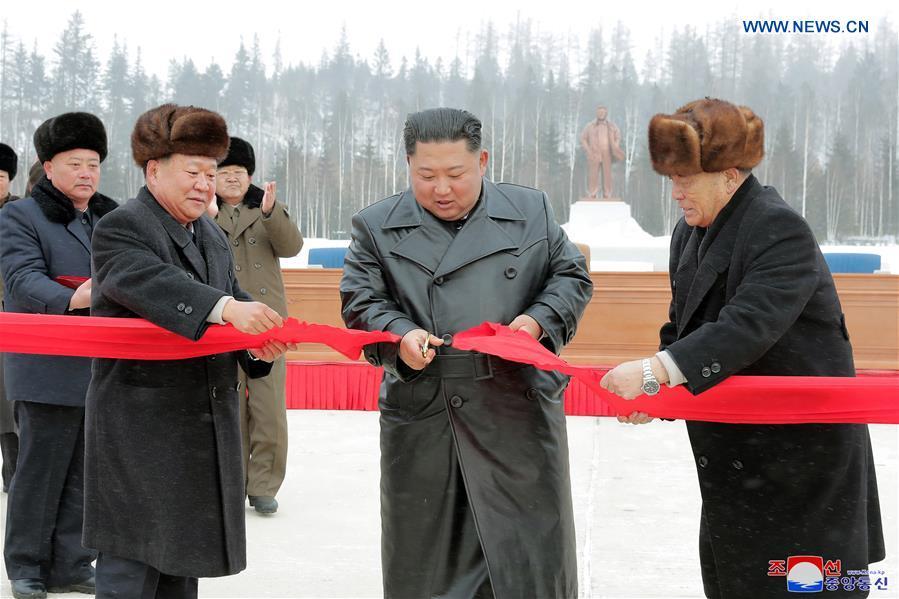 Top DPRK leader attends ceremony marking completion of Samjiyon construction
