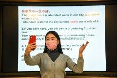 中国学生新学期居
